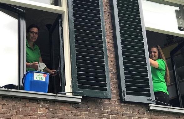 Schoonmaakactie voor longarts en IC-arts in Nijmegen